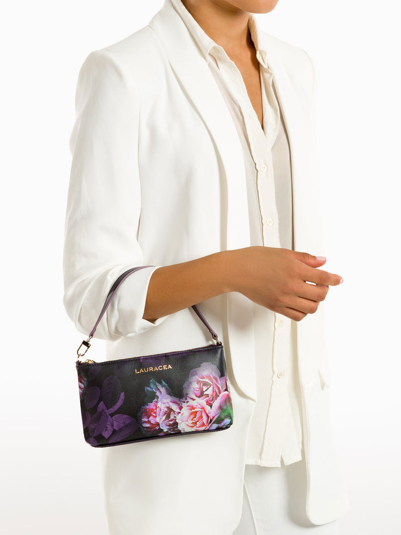 Mini Black Peony [Luxury Accessory, Fashion, Functional Mini]