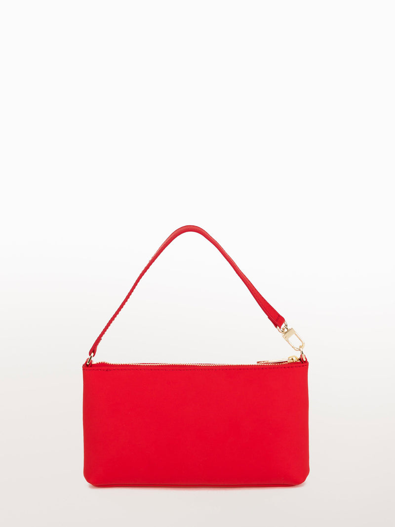 Mini Ferrari Matte [Equestrian Accessories, Leather Accessories, Red Matte Leather Clutch]