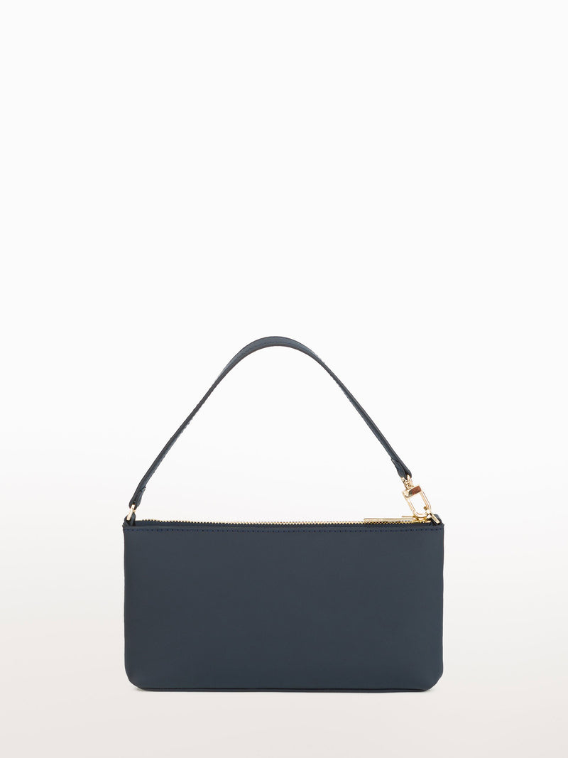 Mini Navy Matte [Equestrian Accessories, Leather Accessories, Navy Leather Clutch]
