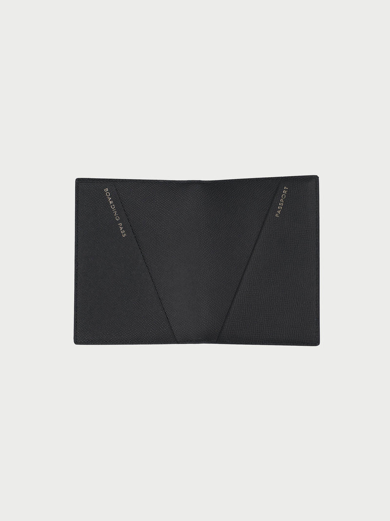 Passport Case Black [Passport Holder Designer, Black Passport Holder, Black Passport Case]