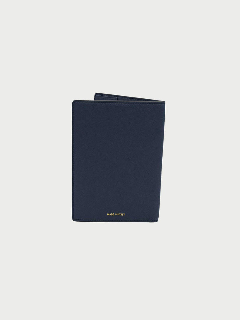 Passport Case Navy [Navy Passport Wallet, Leather Passport Wallet, Navy Passport Cases]