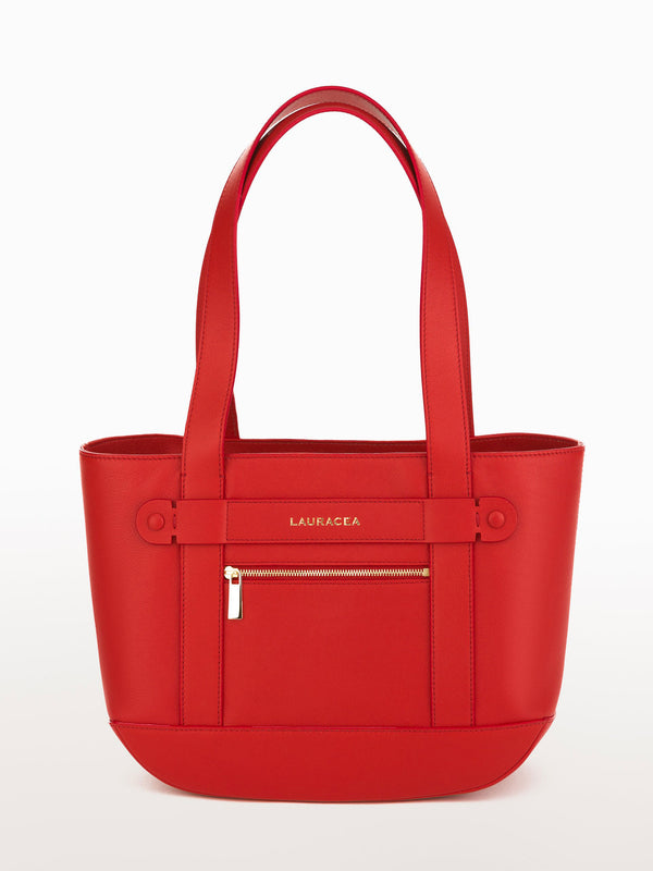 Petite Tote Poppy [Carry-on, Equestrian, Poppy Leather Bag, Premium Quality]