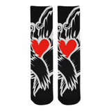 Heart Logo Socks *2 Color Options*
