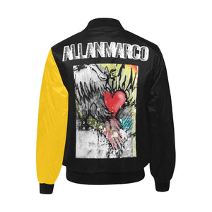 BUMBLE BEE BOMBER JACKET