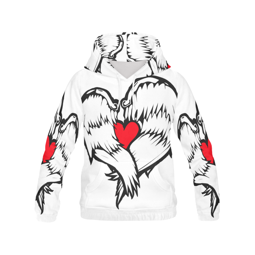 LOVE ALL OVER HOODIE