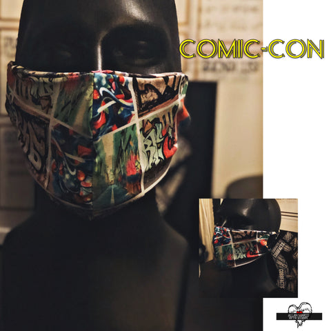 AM Comic-Con Mask