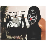 AM Heart Logo Black Mask