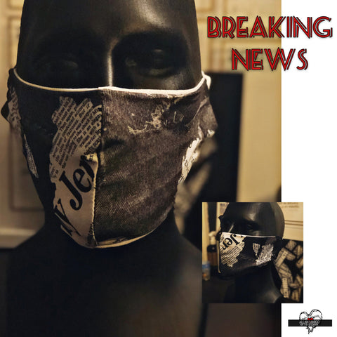 AM Breaking News Mask