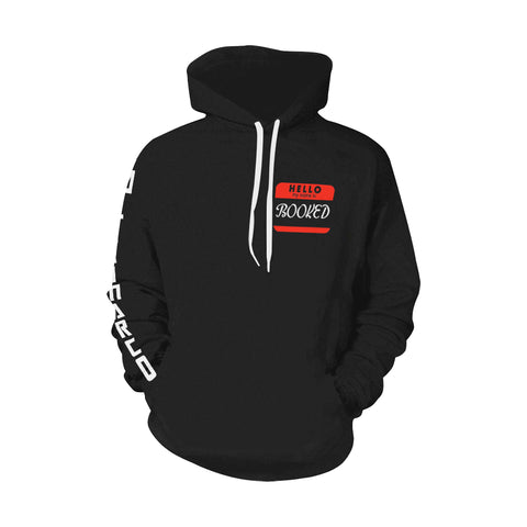 BOOKED Pullover Hoodie *2 Color Options*