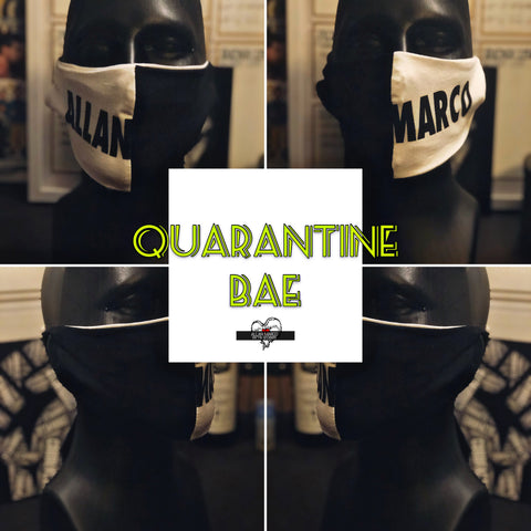 AM Quarantine Bae Mask *SOLD AS PAIR*