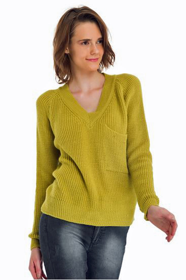 V Neck Sweater - Marvy Fashion Boutique