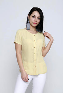 Button-down Top - Marvy Fashion Boutique