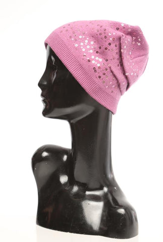 Sequin Beanie - Marvy Fashion Boutique