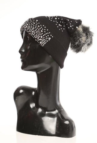 Stud Beanie - Marvy Fashion Boutique
