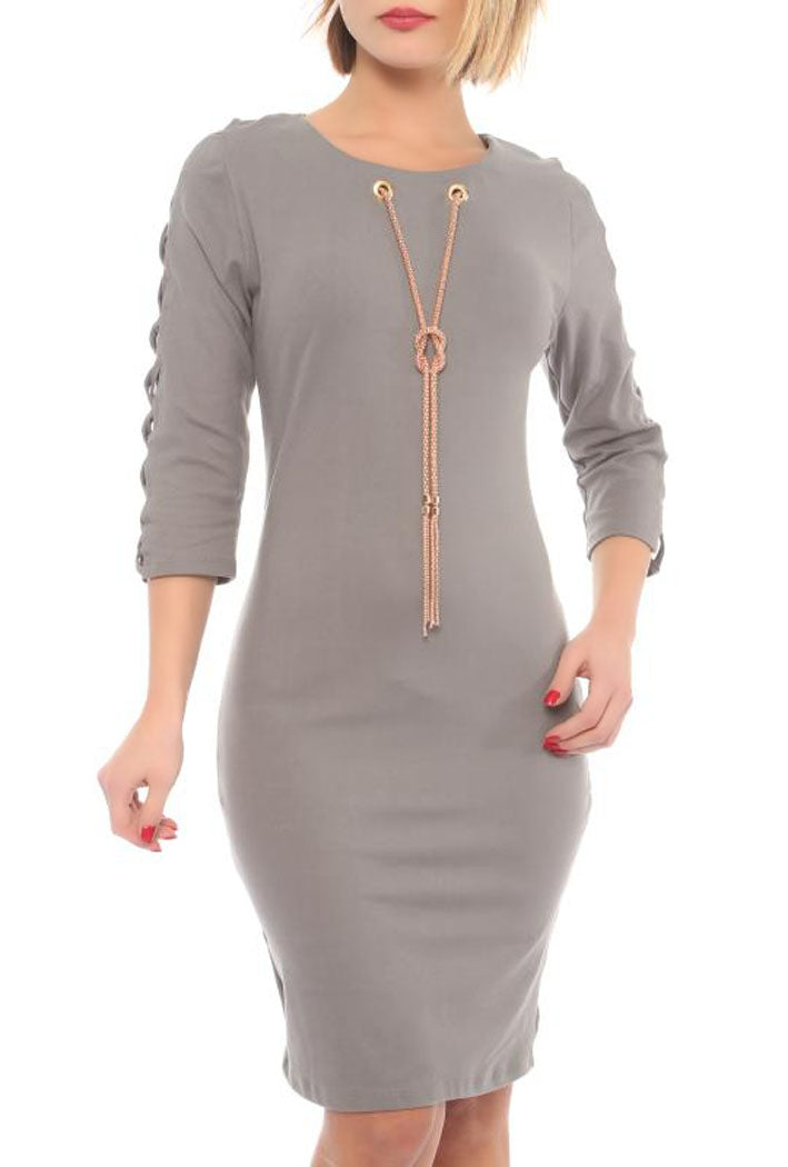 FITTED DRESS - Marvy Fashion Boutique