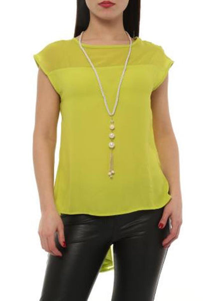 WATERFALL BACK TOP - Marvy Fashion Boutique