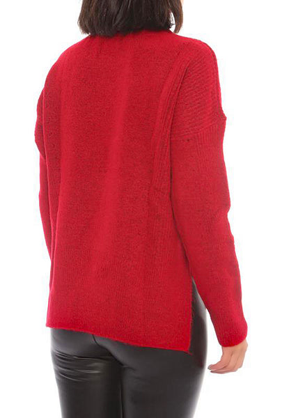 RIBBED PULLOVER - Marvy Fashion Boutique