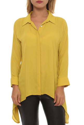 Button up Blouse - Marvy Fashion Boutique