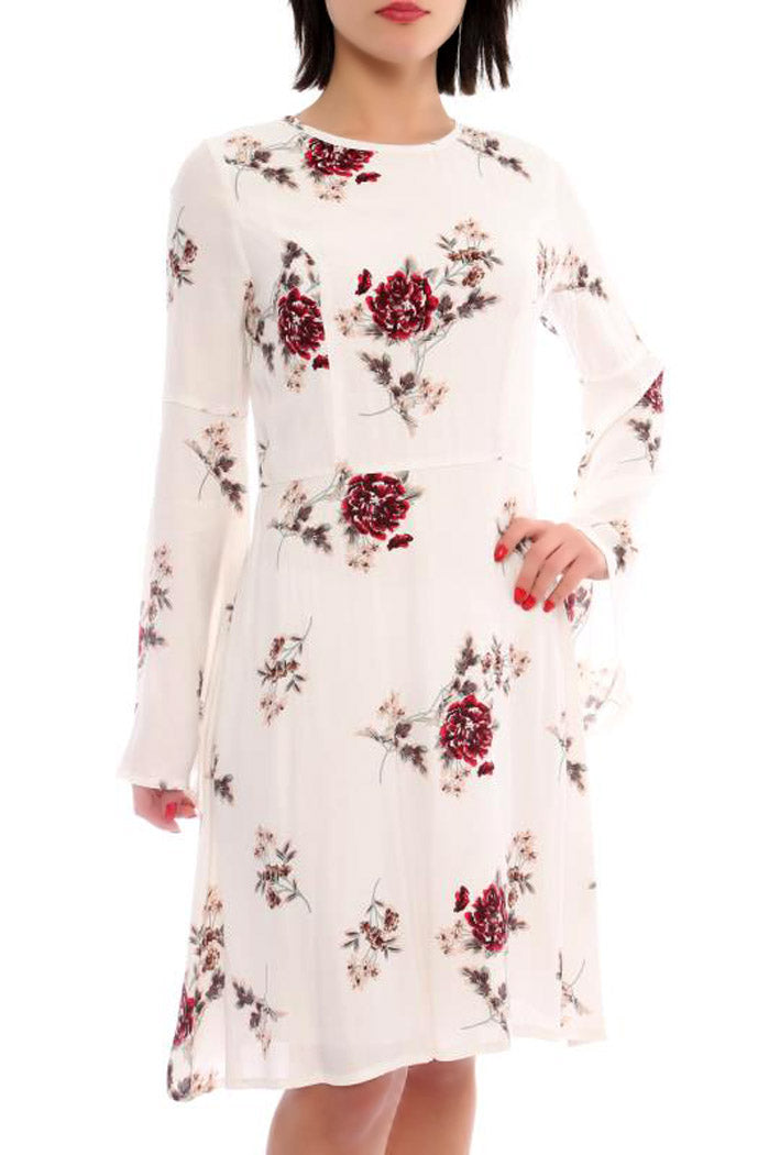 Floral Print Dress - Marvy Fashion Boutique