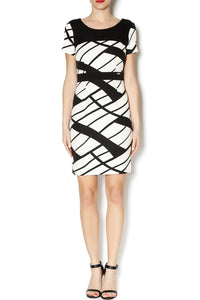 GEO PRINT DRESS - Marvy Fashion Boutique