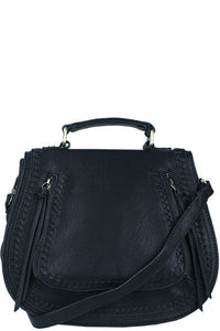 Stitched Cross Body Bag - Marvy Fashion Boutique