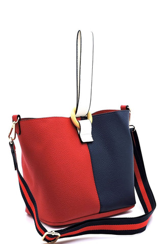 COLORBLOCK BUCKET BAG - Marvy Fashion Boutique