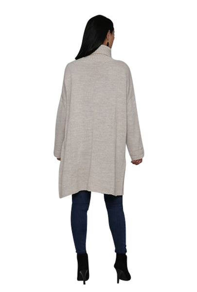 CROSSOVER TUNIC SWEATER - Marvy Fashion Boutique