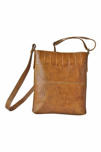 LEATHER CROSS-BODY BAG - Marvy Fashion Boutique