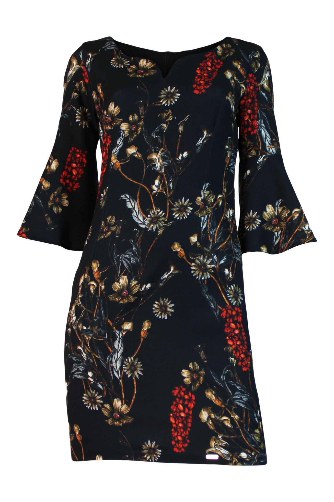 FLOWER PRINTED DRESS - Marvy Fashion Boutique