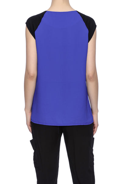 MESH INSERTED TOP - Marvy Fashion Boutique