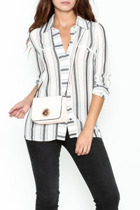 Striped Shirt - Marvy Fashion Boutique