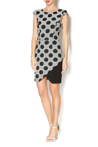 POLK DOT WARP DRESS - Marvy Fashion Boutique