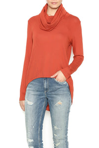 COWL NECK SWEATER - Marvy Fashion Boutique