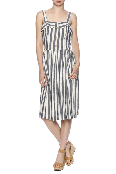 STRIPED DRESS - Marvy Fashion Boutique