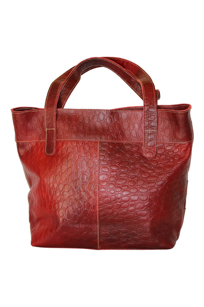 Two-tone Leather Hobo - Marvy Fashion Boutique