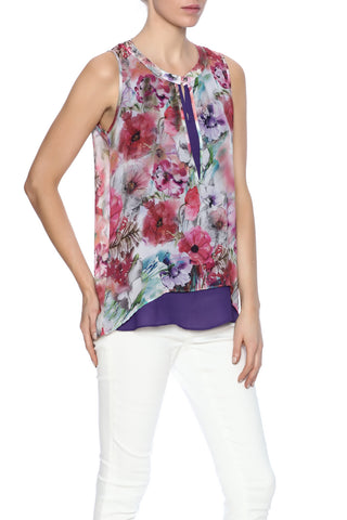 Floral Print Top - Marvy Fashion Boutique