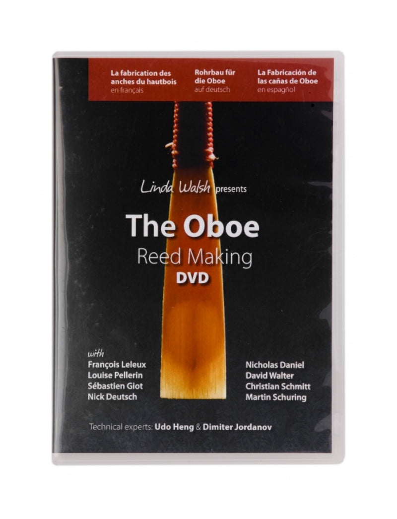 "DVD ""The Oboe Reed Making"""