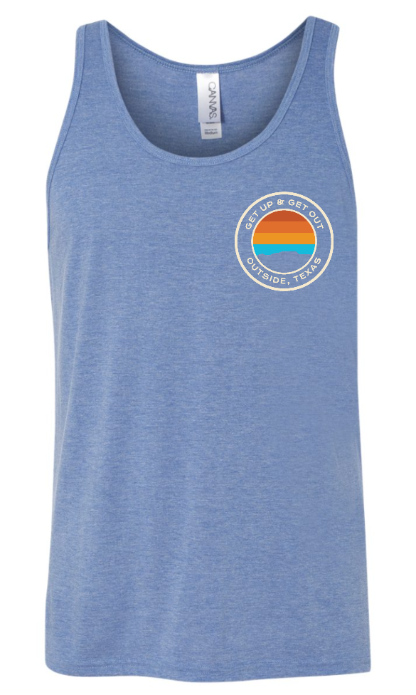 OTX Get Up & Get Out Unisex Tank - Outside, Texas