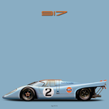 917 light blue color series Die Cut Stickers