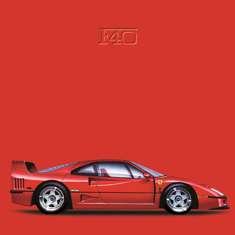 Ferrari F40 Die Cut Stickers