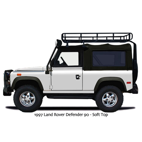 Landy D-90 Die Cut Stickers