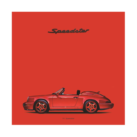 911 Speedster ICON SERIES Die Cut Stickers
