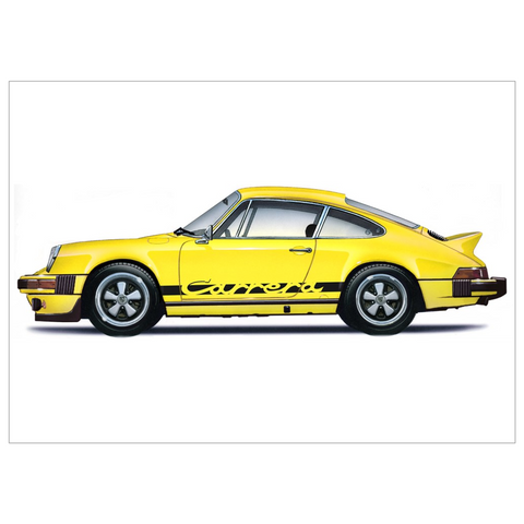 Carrera RS Flat Cards