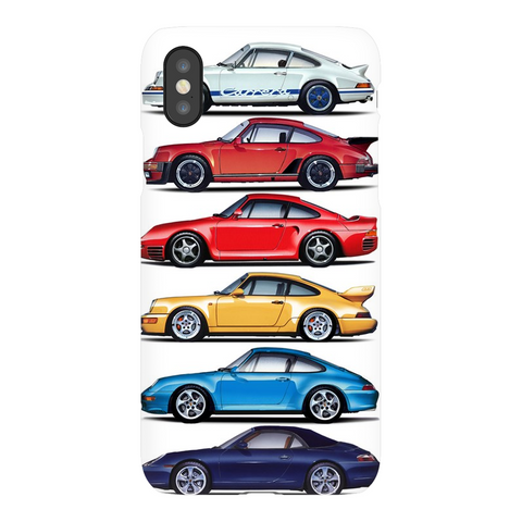 Porsche Stack Phone Case