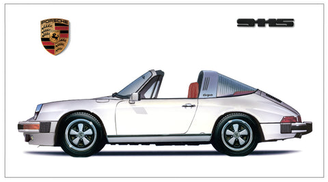 1976 911 S Targa Grand Prix White