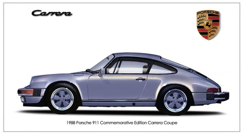1988 Porsche 911 Commemorative Edition Carrera Coupe