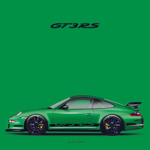 911 Icon print GT3RS