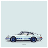 Carrera RS ICON SERIES Die Cut Stickers