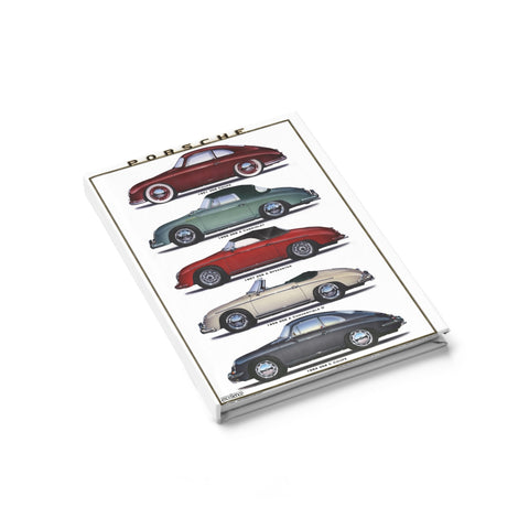 356 Porsche Journal - Ruled Line