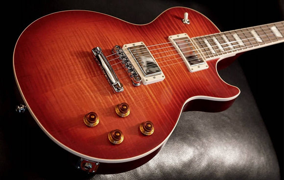 Gibson Les Paul Standard 2018 Blood Orange Flamed Mapletop